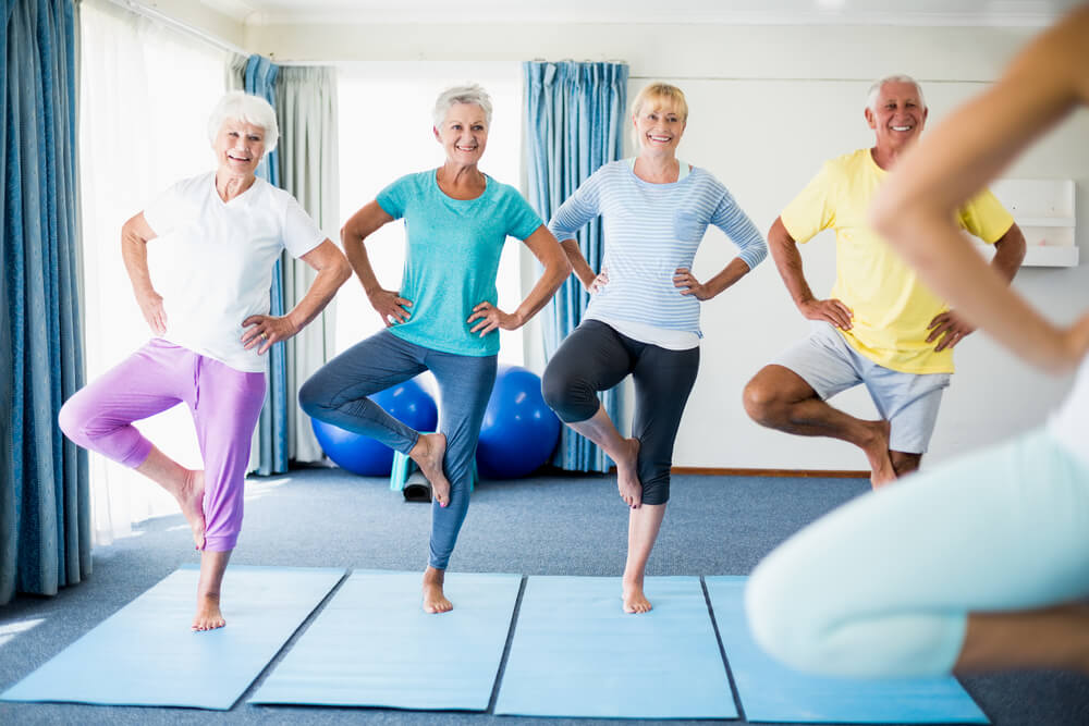 Fun Balance Exercises for Elderly