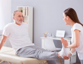 physical therapy after bunion surgery