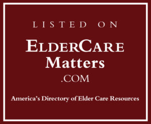 Proud Member of ElderCareMatters.com
