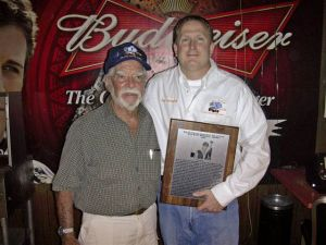 Tom Davey With Ray Cunningham Belleville Ks
