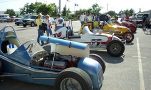Vintage Car Lineup