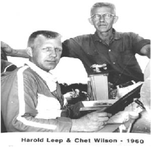 Harold Leep & Chet Wilson - 1960