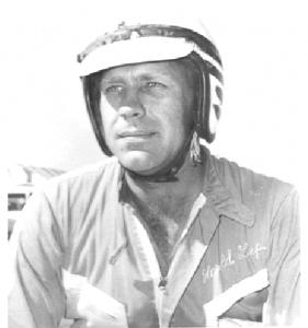 Harold in helmet