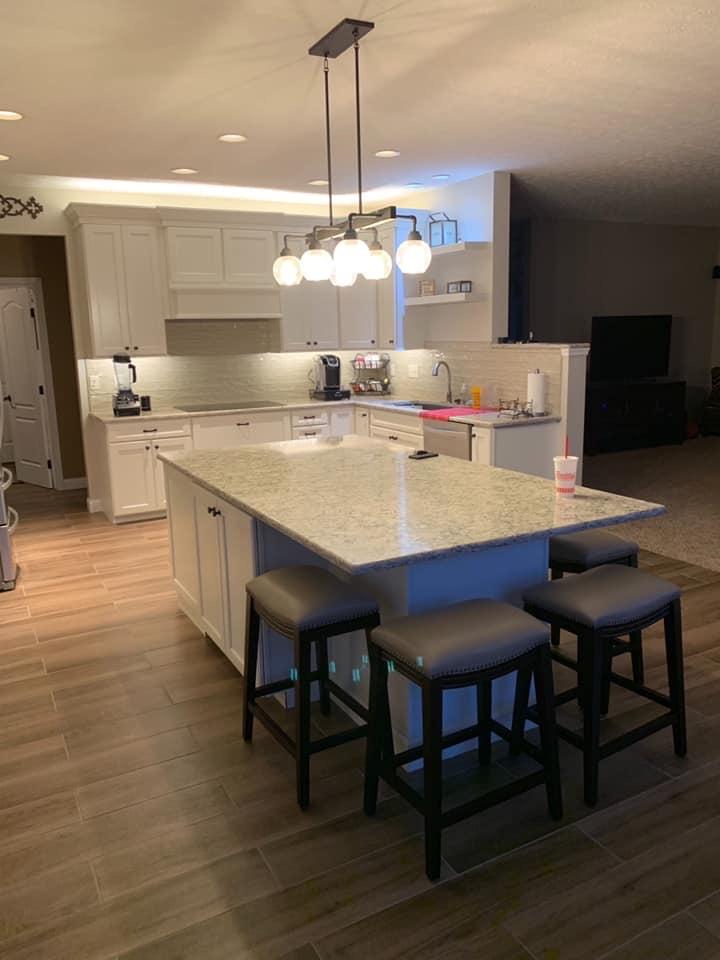 View kitchen renovation details page
