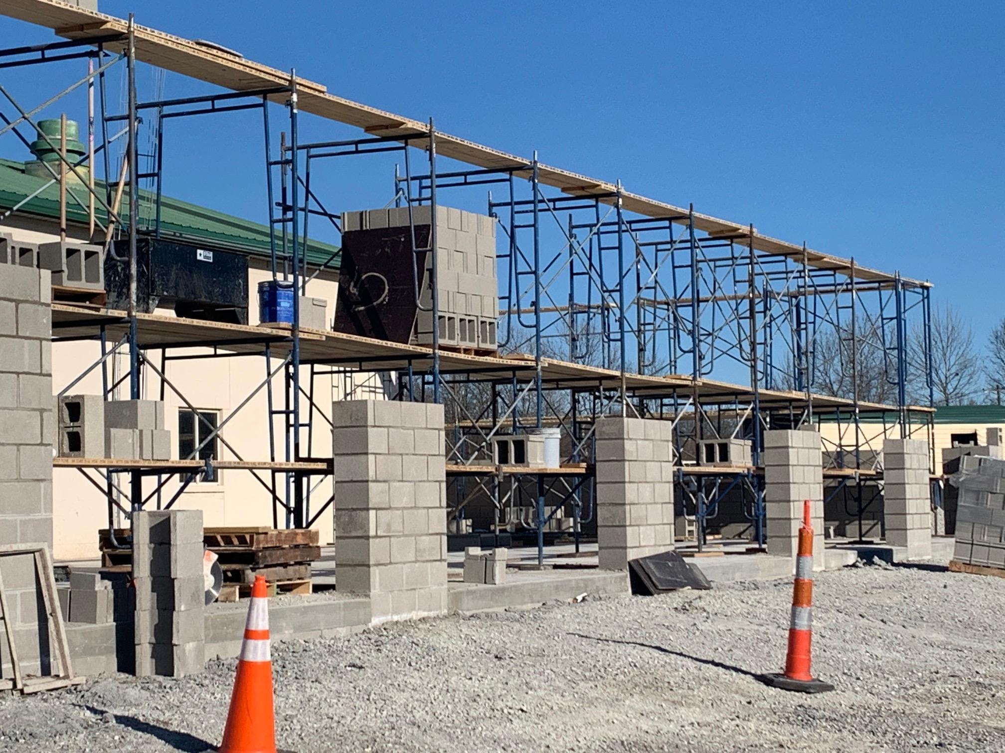 View concrete site