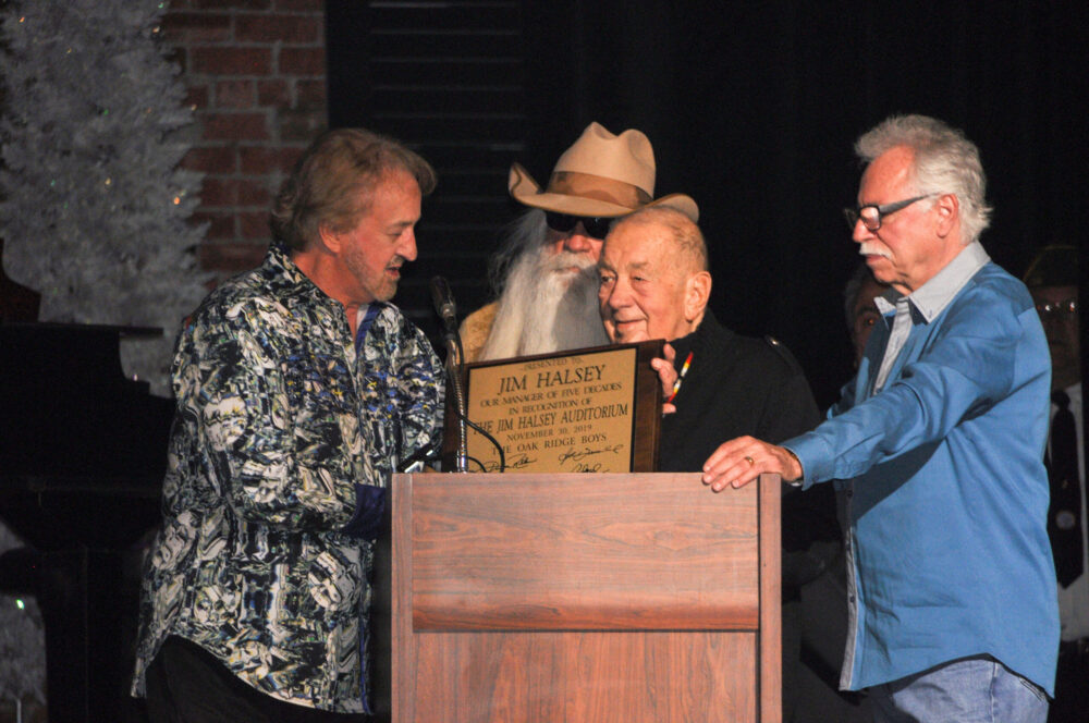 (L-R) Duane Allen, William Lee Golden, Jim Halsey, Joe Bonsall Photo by: Steve McBride