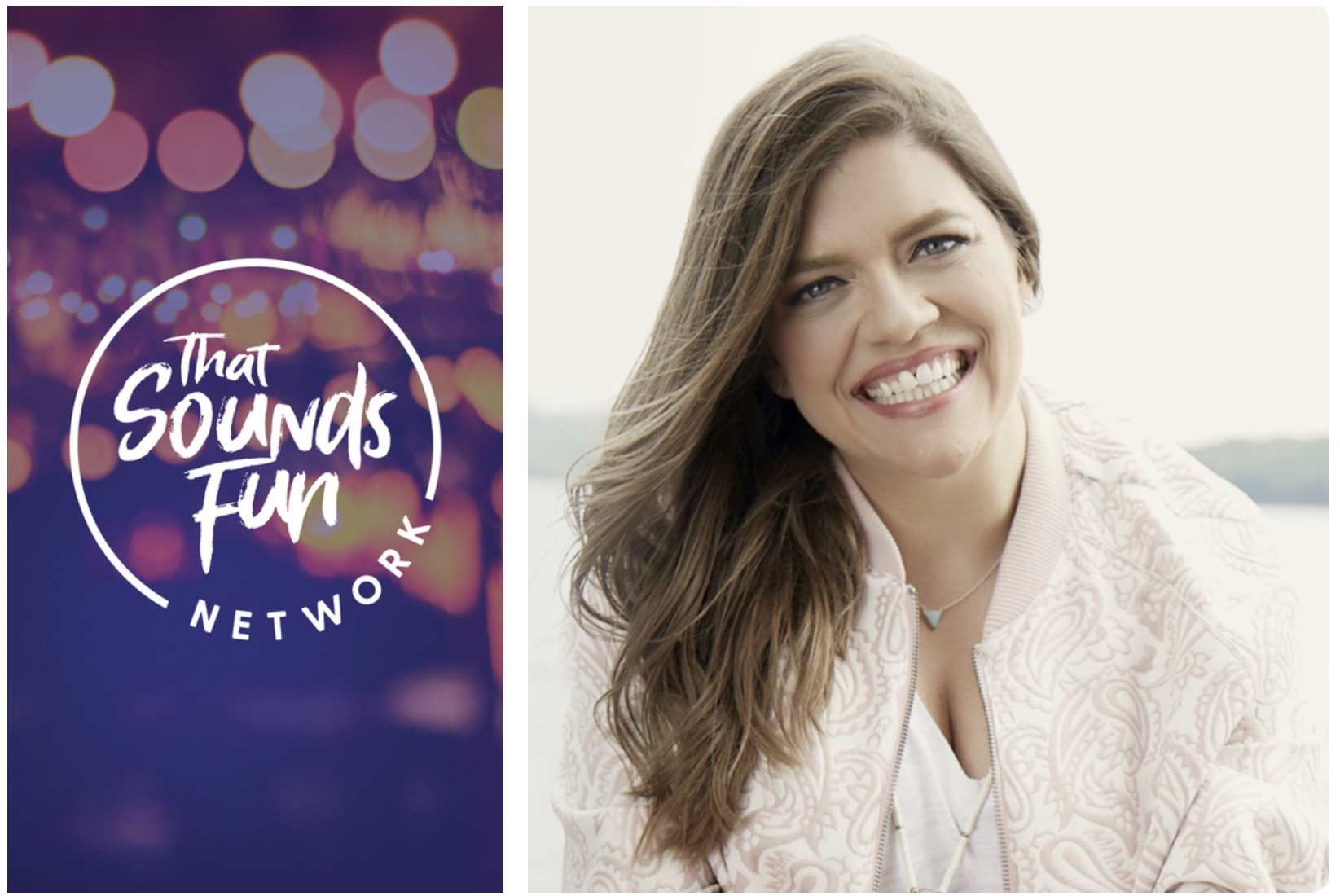 Podcast News: That Sounds Fun Network Launches Today by Popular Author, Podcaster Annie F. Downs