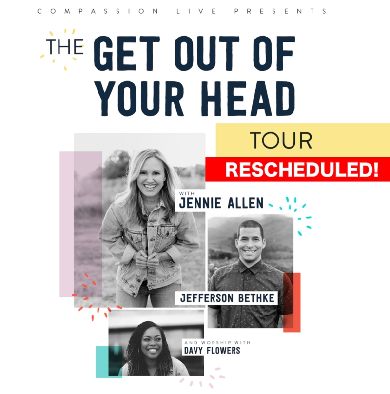 Music News: Compassion LIVE's 'The Get Out Of Your Head Tour' Announces Rescheduled Tour This Fall