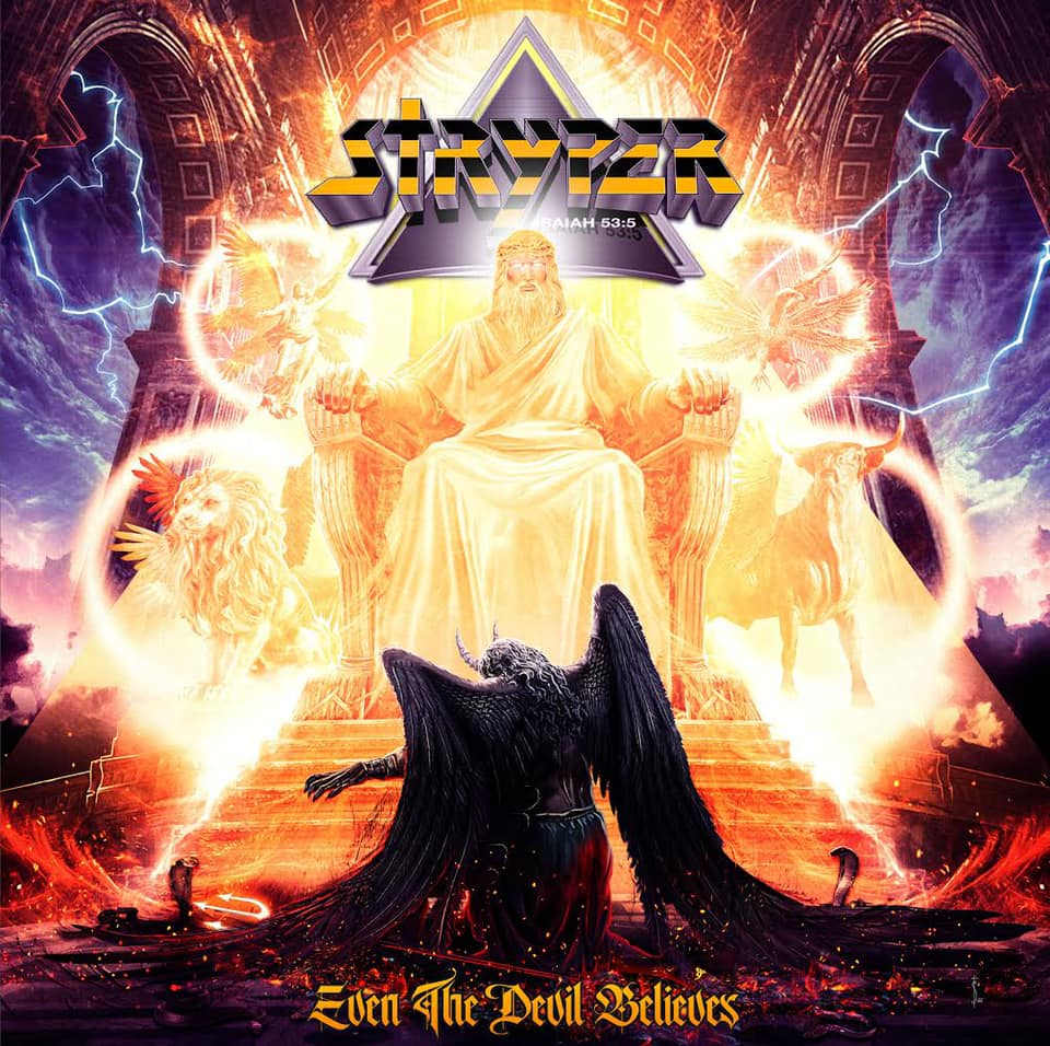 "MUSIC NEWS: STRYPER Returns September 4th with New Studio Album, ""Even The Devil Believes"""