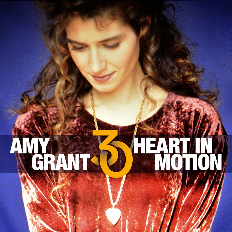 Music News: AMY GRANT ANNOUNCES 30th ANNIVERSARY EDITION OF ICONIC HEART IN MOTION