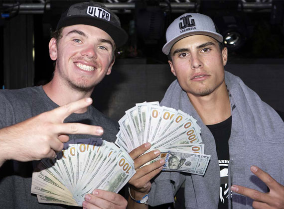 cornhole tournamnet cash payouts