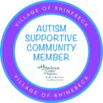 image of Autism Supportive Community Member logo