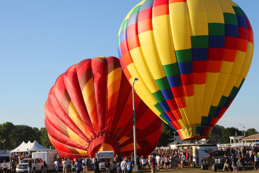 photo of ballons at Dutchess County Balloonfest