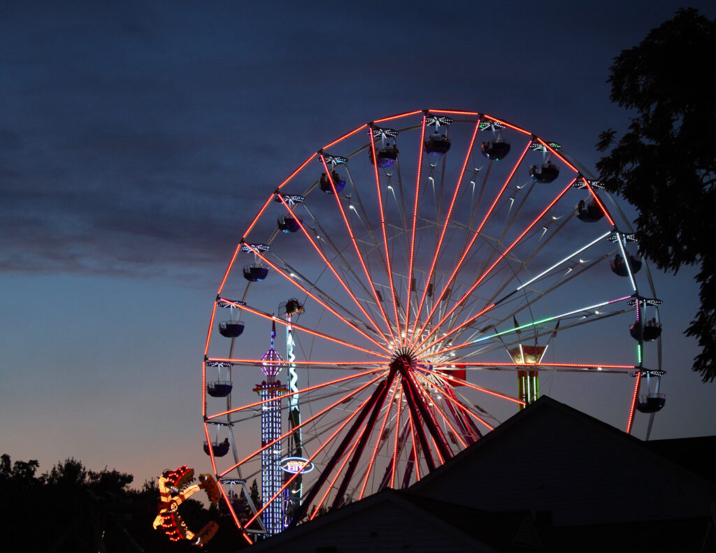 photo of ferris wheel at Dutchess County Fair