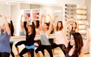 photo of pilates class