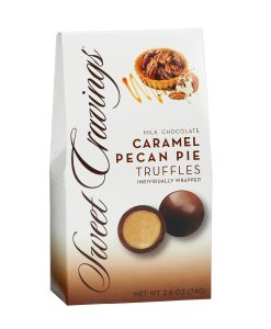 Caramel Pecan Pie Truffles