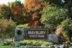 MayburyStateParkSign