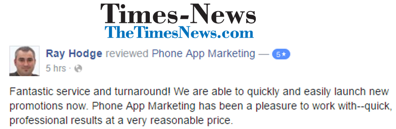 Phone App Marketing The Times News