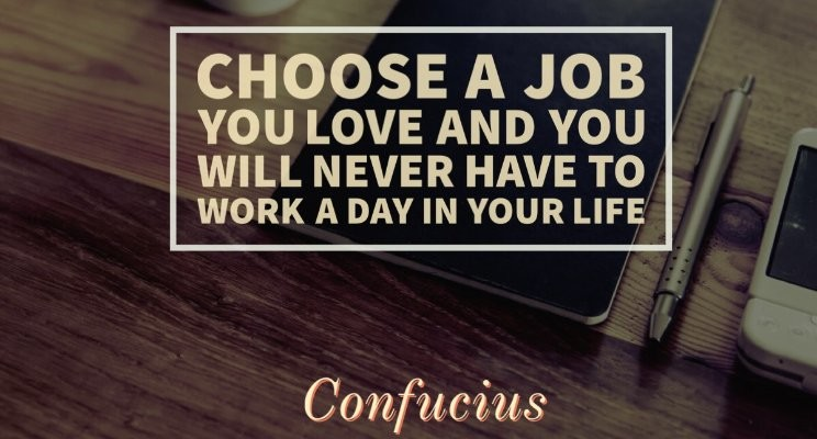 DOING THE WORK YOU LOVE AND BEING PAID FOR IT!