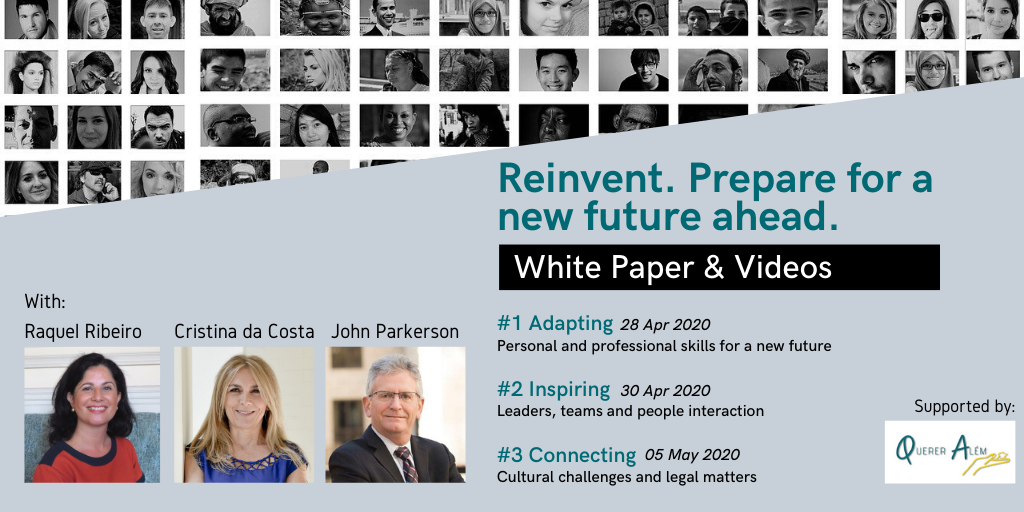 "Check out the highlights of the 3-part Webinar ""Reinvent. Prepare for a new future ahead""!"