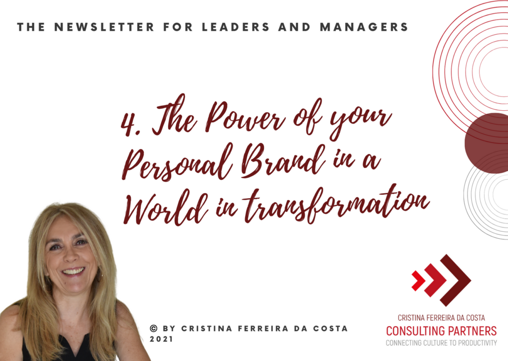 The Power Of Your Personal Brand In A World In Transformation