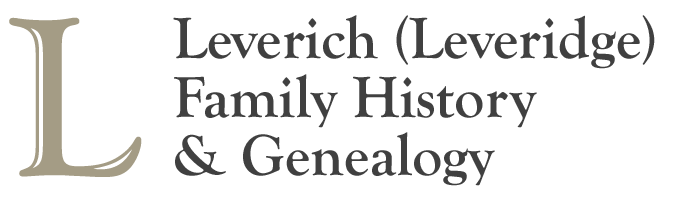 Leverich (Leveridge) Family History & Genealogy