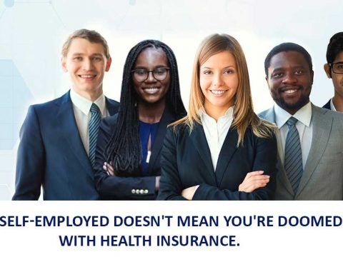 Being Self-Employed doesn't mean you're Doomed with Health Insurance.
