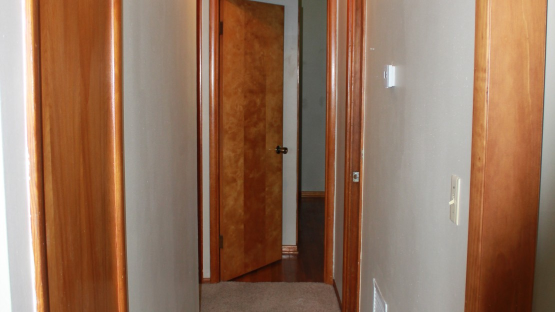 Hallway in Rental home - Independence Iowa