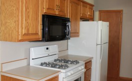 Newly Updated Kitchen in Rental Property in Independence Iowa