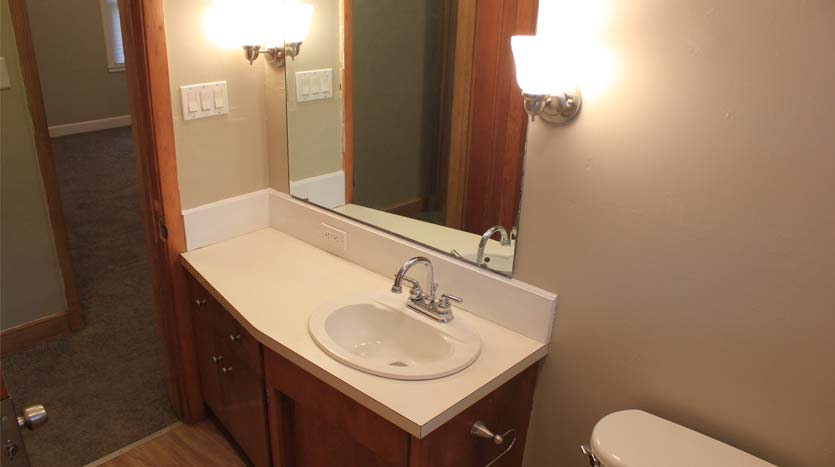 Bathroom Sink In House For Rent Independence Iowa