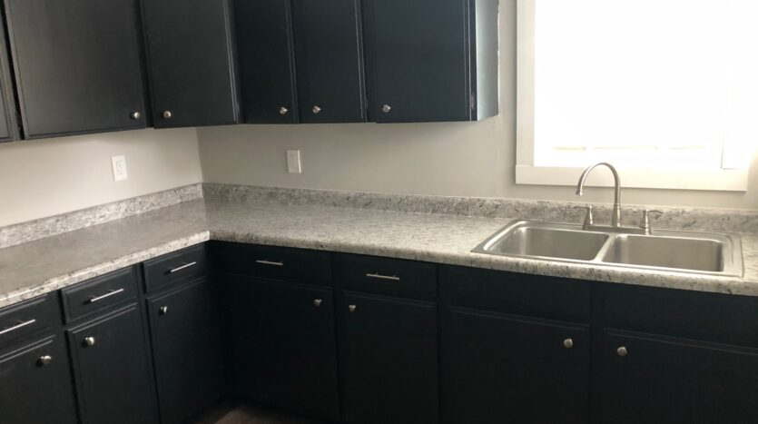 Kitchen Cabinets of Independence Iowa Rental House