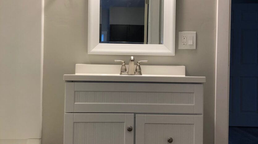 Bathroom of Independence, Iowa Rental House