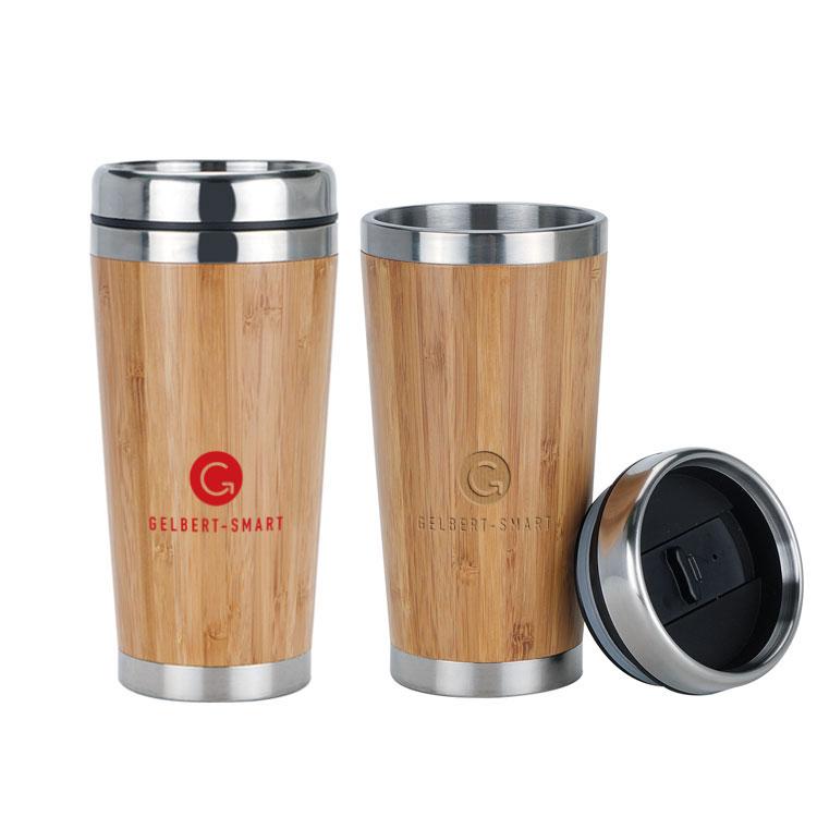 Bamboo Vacuum Mugs
