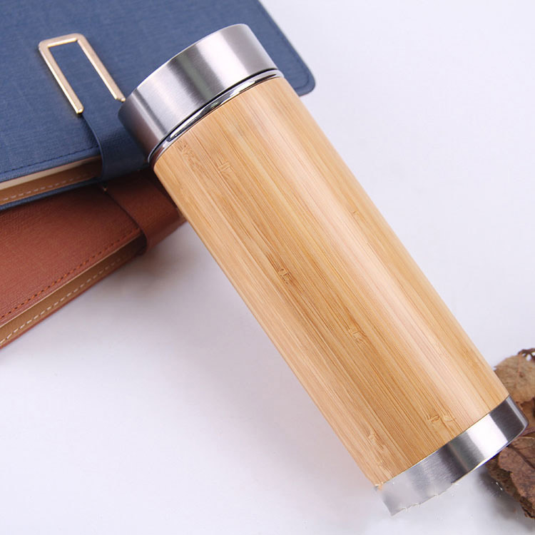 Bamboo Vacuum Cup Bottle