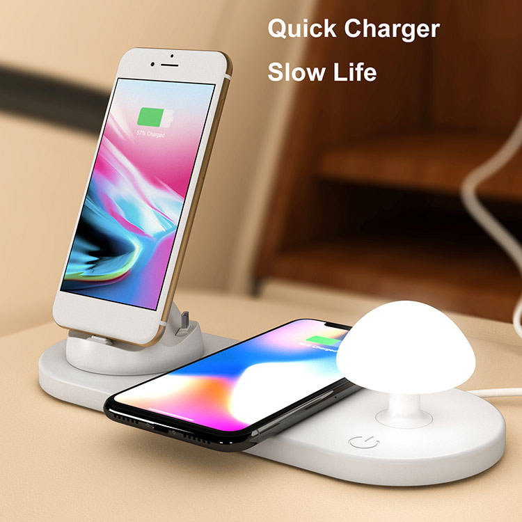 Multifunctional LED Lamp Wireless Charger