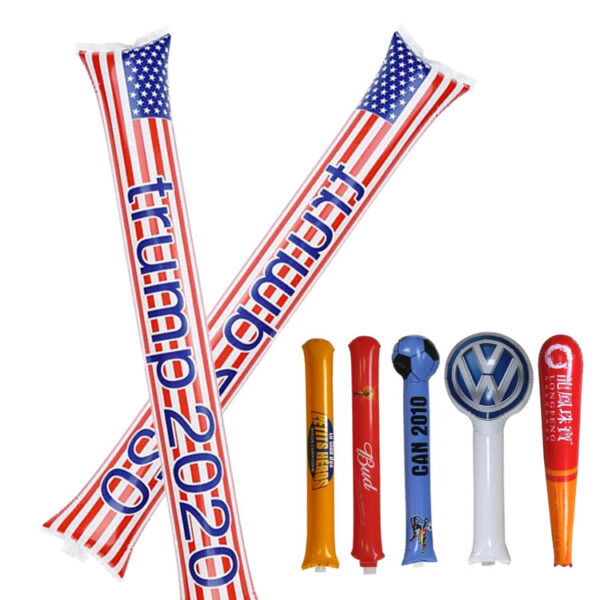 Wholesale Cheer Inflatable Sticks With Logo