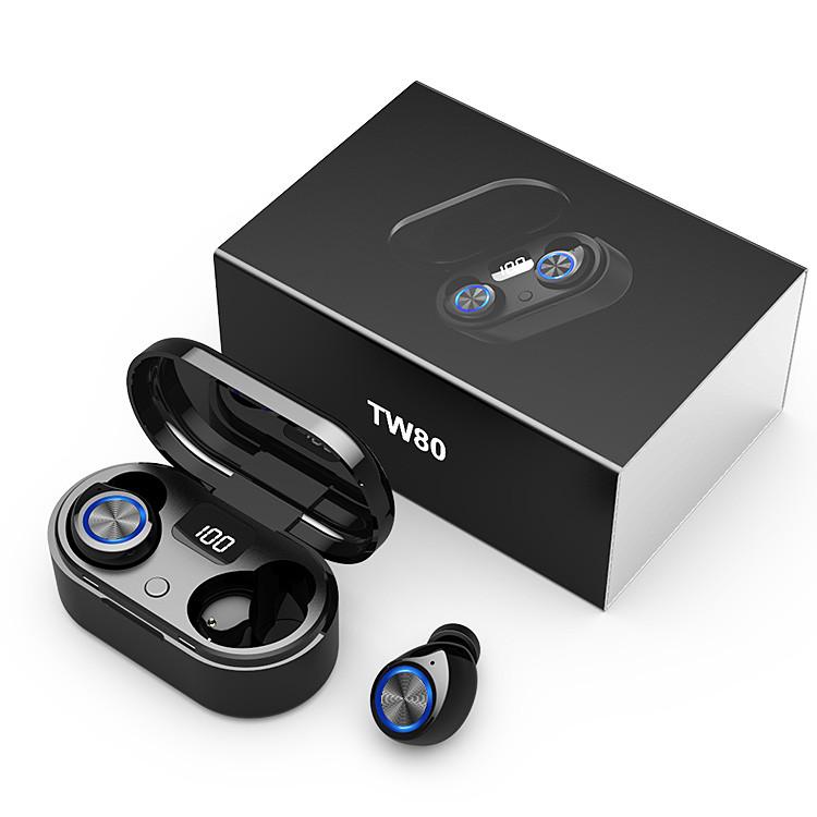 TW80 Mini Wireless Earbuds Headphone
