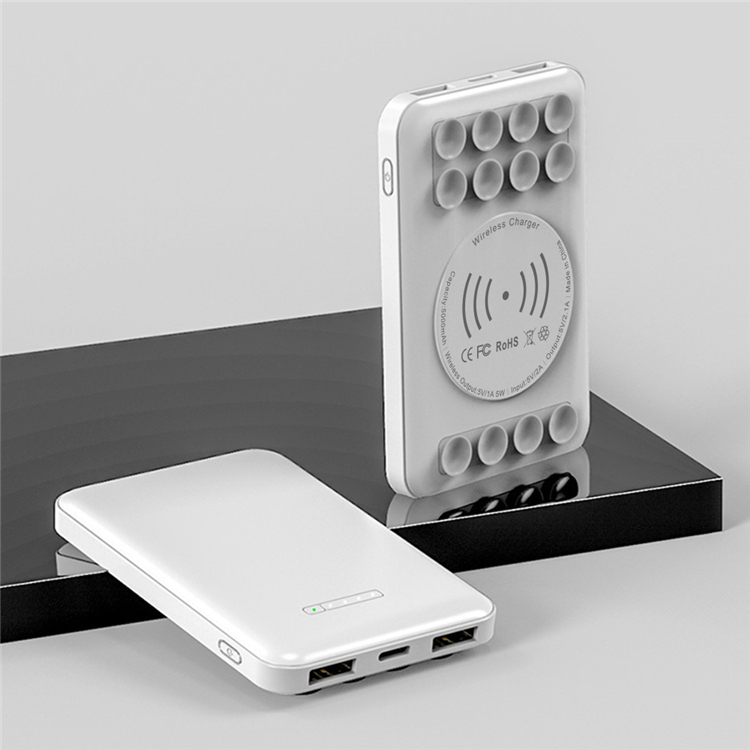 5000mah Mini Wireless Charging Powerbank