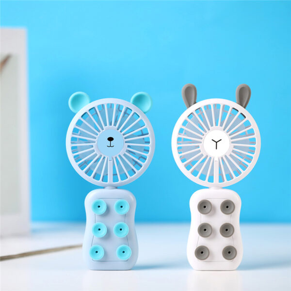 Portable Suction Cup Small Fan