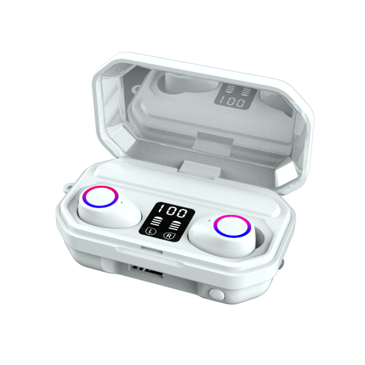 M12 TWS Earphones With Powerbank