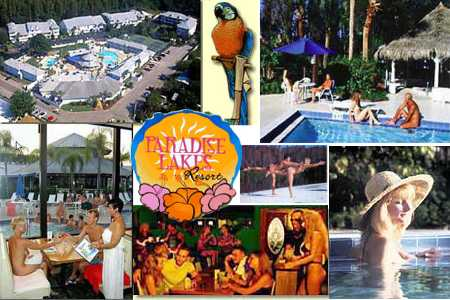 Paradise Lakes Resort Activities