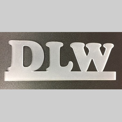 laser cut text for sign