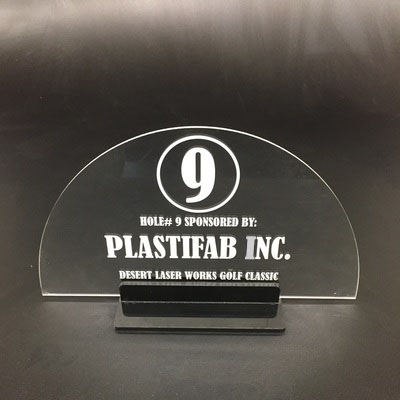 laser etched and cut acrylic signs in Phoenix, AZ
