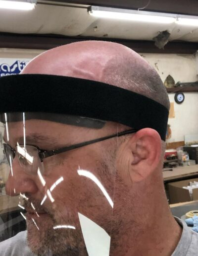 face shields for personal protection