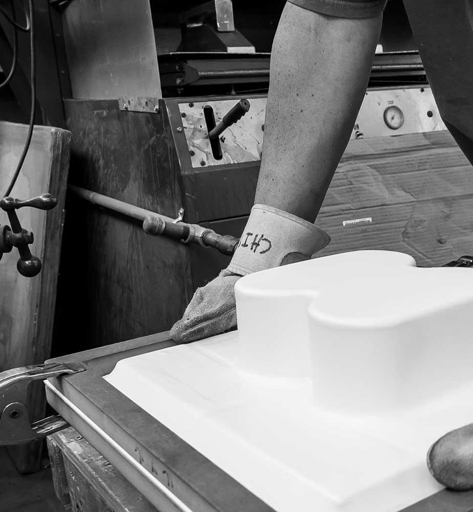 vacuum molding at Plastifab Inc