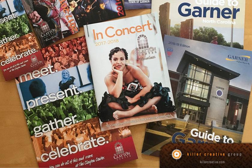 Brochure design in Raleigh NC