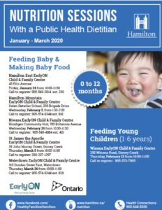 A Niwasa flyer that includes a smiling baby