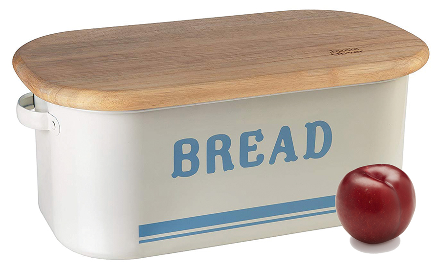 Picture a plum and a breadbox