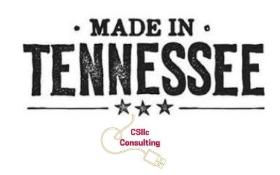 Tennessee Vacation logo Made in Tennessee