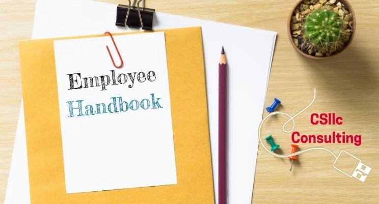photo of employee handbook